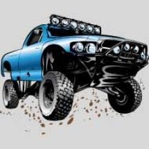 blue-race-truck-shirt_design