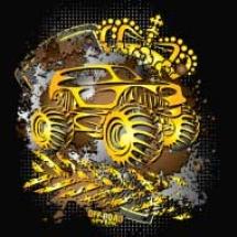 golden-monster-truck_design