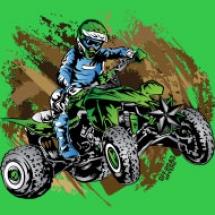 green-quad-mudding