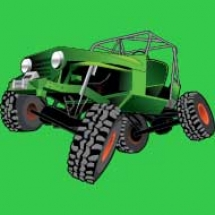 green-rock-crawler-jeep_design