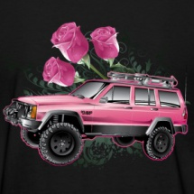 jeep-xj-roses-pink