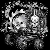 metallic-monster-truck_design