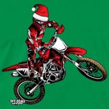moto-santa-red