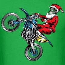 motocross-santa-claus-shirt