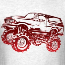 mud-truck-bronco-red-outline