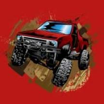 mudding-truck-shirt