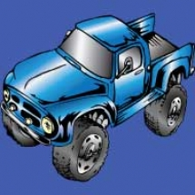 off-road-truck-ford-classic-f100-monster-blue