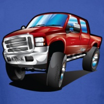 truck-ford-lifted-warp-red