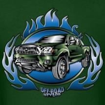 truck-tacoma-blue-flames-green