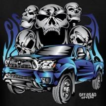 truck-tacoma-bones-fire-blue