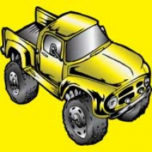 yellow-monster-truck-ford-classic-f100