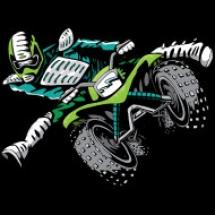 atv-stunt-rider-green