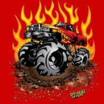blazing-red-mega-truck