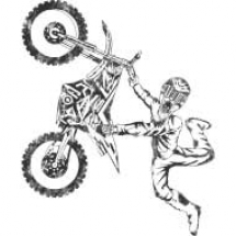 dirt-bike-stunt-rider-design