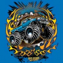flamed-monster-truck_design