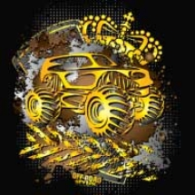 golden-monster-truck_design