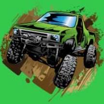 green-muddy-truck_design