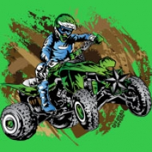 green-quad-mudding