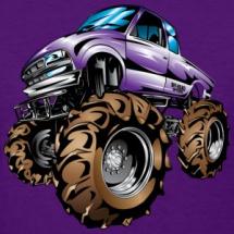 mega-mud-truck-purple