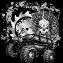metallic-monster-truck_design