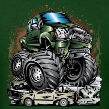 monster-truck-tacoma-green