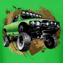 mudding-race-truck-shirt_design