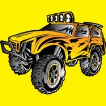 off-road-styles-truck-rock-crawler-monster-yellow