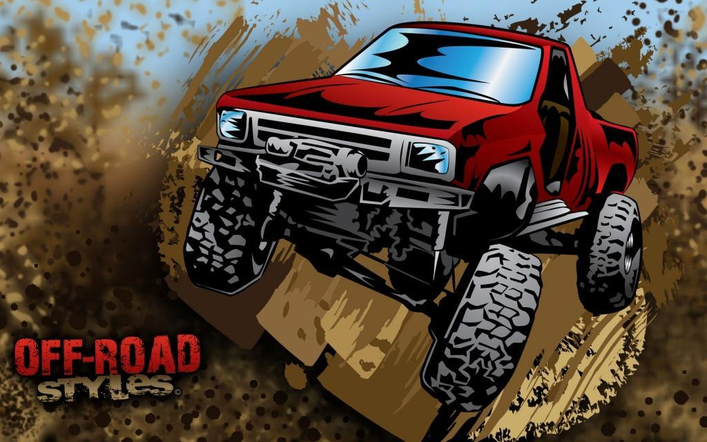 offroadstyles-muddy-red-4x4-truck