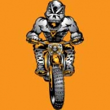 skull-crazy-dirt-biker-design