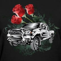 truck-tacoma-flowers-white