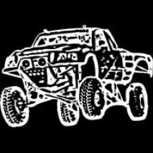white-jumping-truck