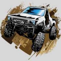 white-muddy-truck_design