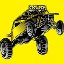 yellow-custom-dune-buggy