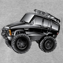 Black XJ Cherokee Cartoon