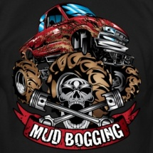 mud-bogging-red